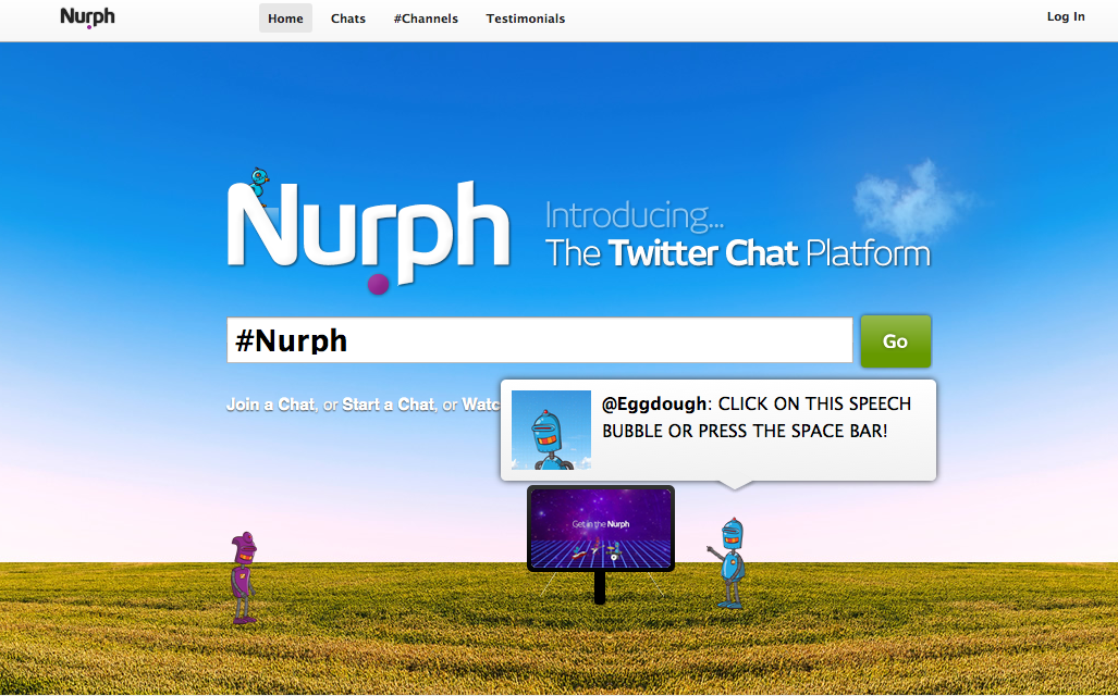 Logging into Nurph.com for FFBchat