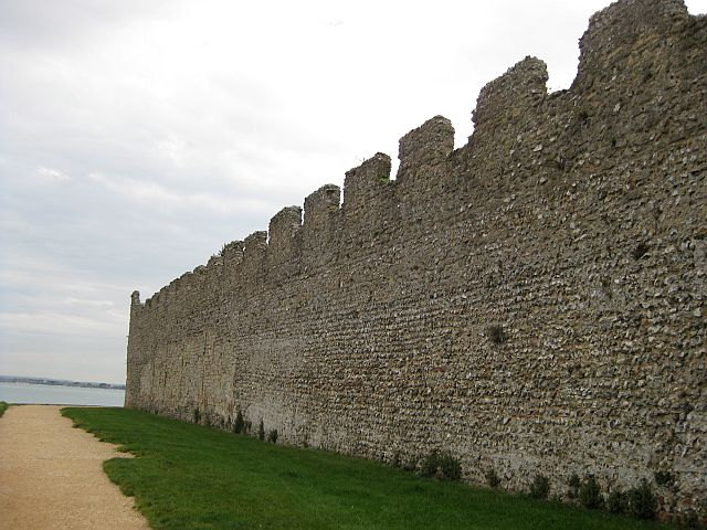 Rochester castle walls