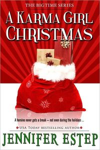A Karma Girl Christmas by Jennifer Estep