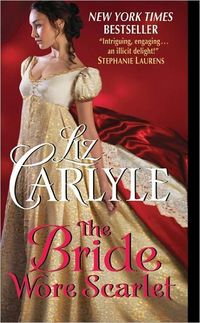 The Bride Wore Scarlet by Liz Carlyle