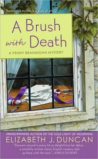 A Brush with Death by Elizabeth J. Duncan