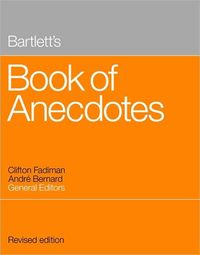 Bartlett's Book of Anecdotes