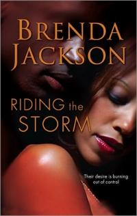 Excerpt of Riding the Storm by Brenda Jackson