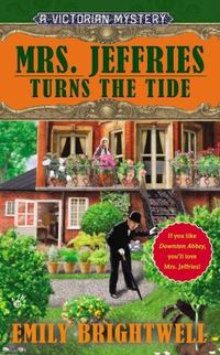 Mrs. Jeffries Turns The Tide by Emily Brightwell