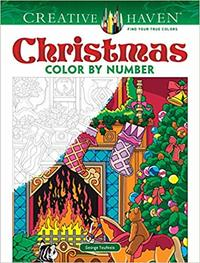 Creative Haven Christmas Color by Number