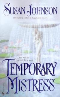 Temporary Mistress by Susan Johnson