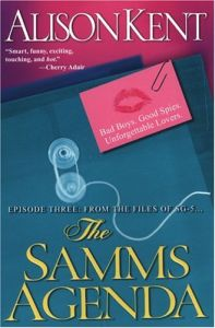 The Samms Agenda by Alison Kent