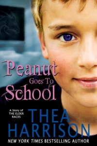Peanut Goes to School by Thea Harrison