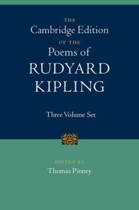 Cambridge Edition Of The Poems Of Rudyard Kipling