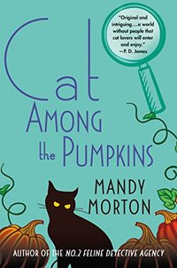 Cat Among the Pumpkins