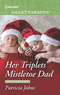 Her Triplets' Mistletoe Dad