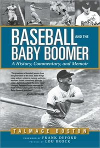 Baseball and the Baby Boomer