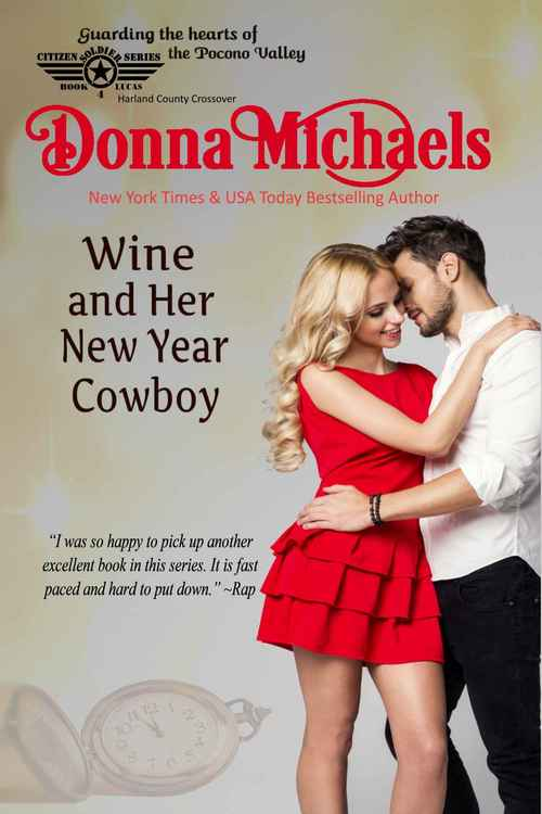 WINE AND HER NEW YEAR COWBOY