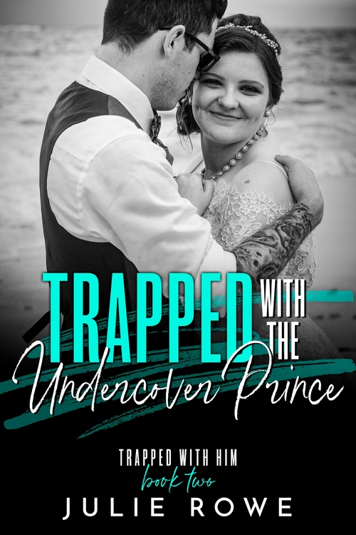 TRAPPED WITH THE UNDERCOVER PRINCE