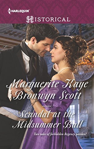 Excerpt of Scandal at the Midsummer Ball by Bronwyn Scott
