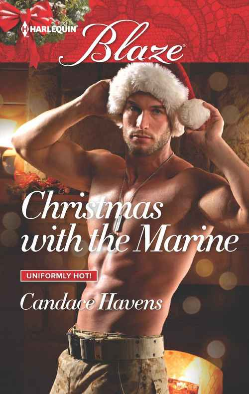 Christmas with the Marine by Candace Havens