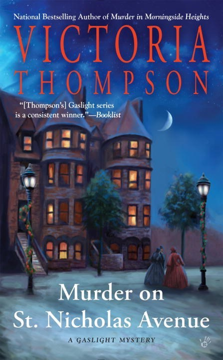 Murder on St. Nicholas Avenue by Victoria Thompson