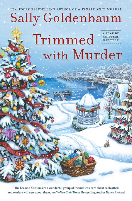 Trimmed With Murder by Sally Goldenbaum