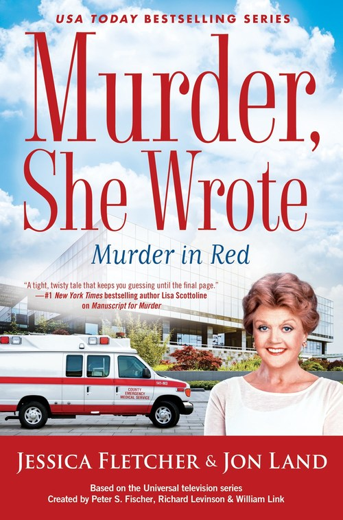 Murder, She Wrote: Murder in Red by Jessica Fletcher