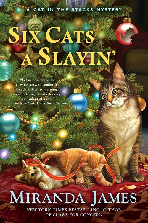 Six Cats a Slayin' by Miranda James