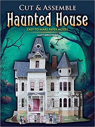 Cut & Assemble Haunted House