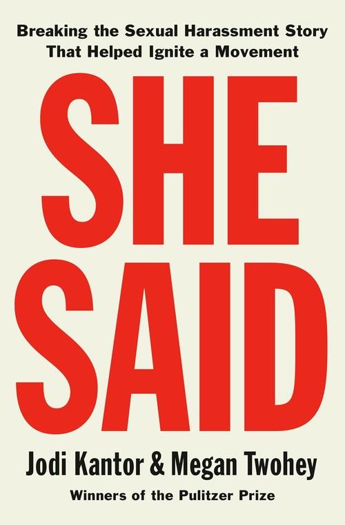 She Said by Jodi Kantor