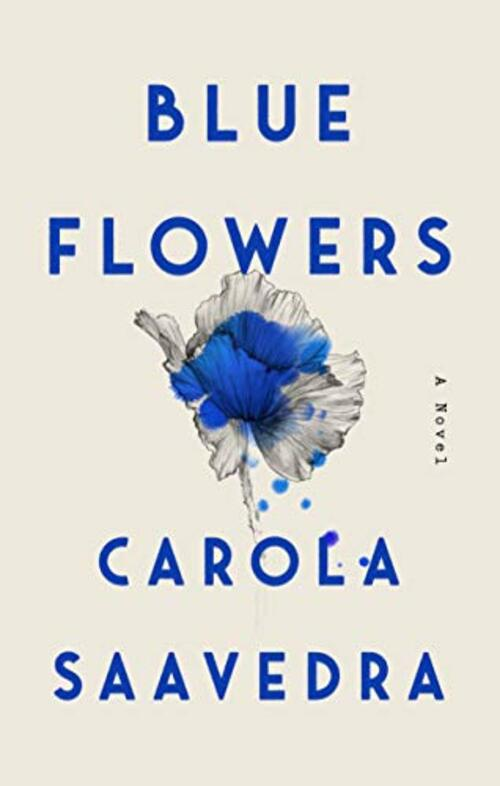 Blue Flowers by Carola Saavedra