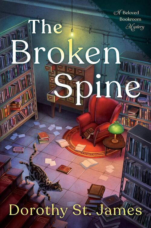 The Broken Spine by Dorothy St. James