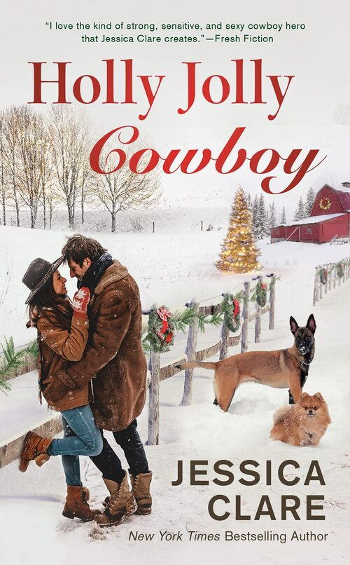 Holly Jolly Cowboy by Jessica Clare