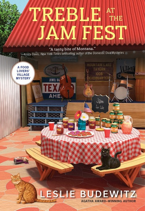 Treble at the Jam Fest by Leslie Budewitz