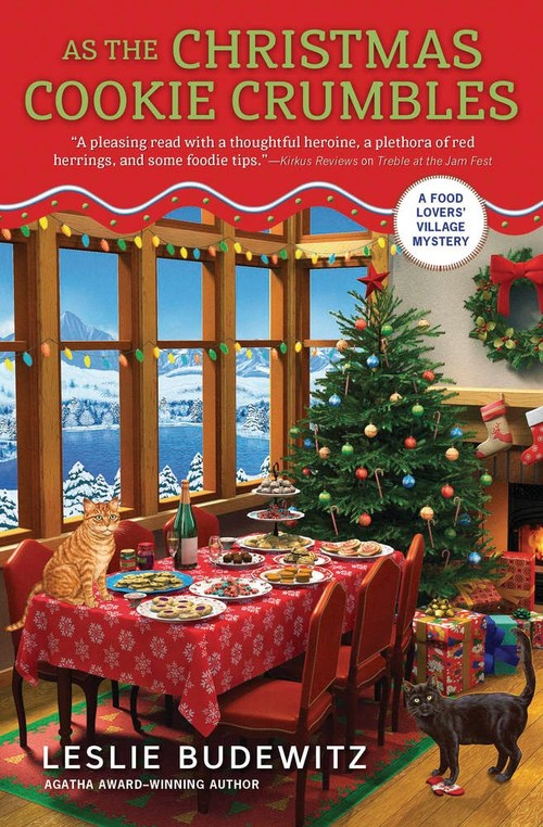 As the Christmas Cookie Crumbles by Leslie Budewitz