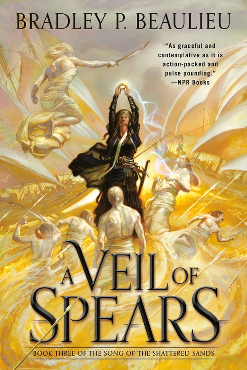 A Veil of Spears by Bradley P. Beaulieu
