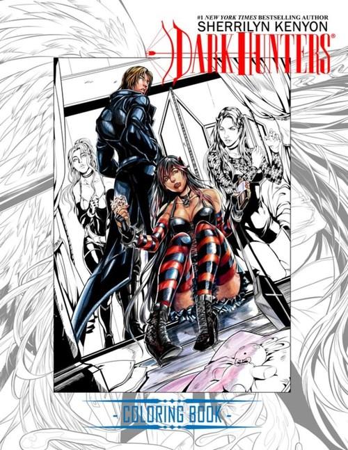 Dark-Hunter Ultimate Coloring Book by Sherrilyn Kenyon