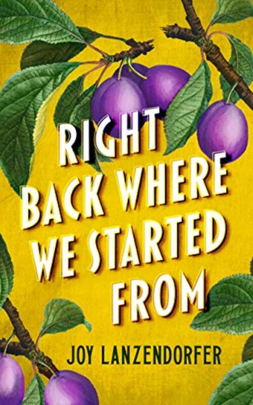 Right Back Where We Started From by Joy Lanzendorfer