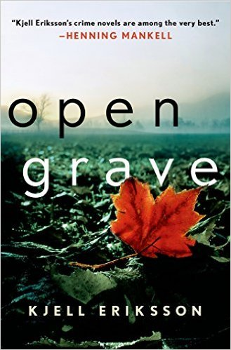 Open Grave By Kjell Eriksson border=