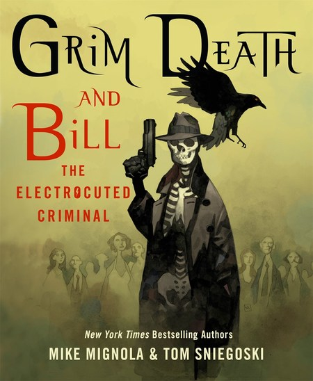 Grim Death and Bill the Electrocuted Criminal by Mike Mignola