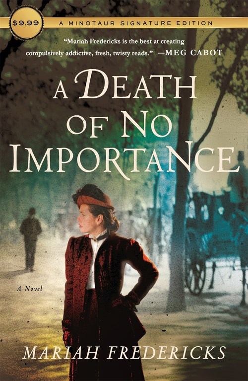 A Death of No Importance by Mariah Fredericks