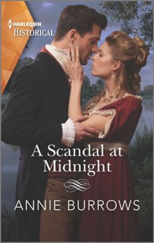 A Scandal at Midnight by Annie Burrows