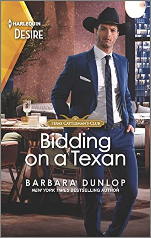 Bidding on a Texan by Barbara Dunlop