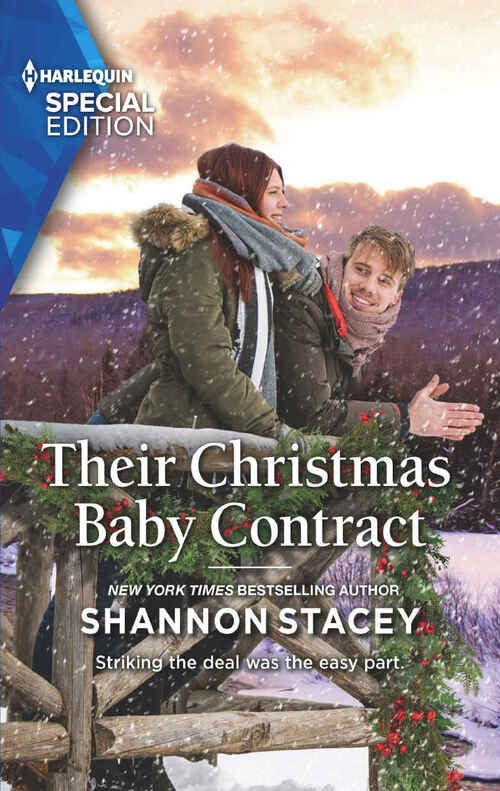 Their Christmas Baby Contract by Shannon Stacey