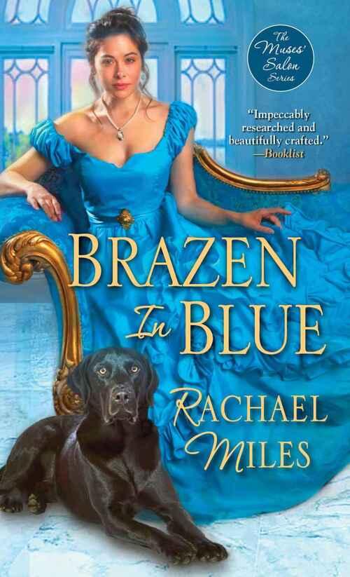 Brazen in Blue by Rachael Miles