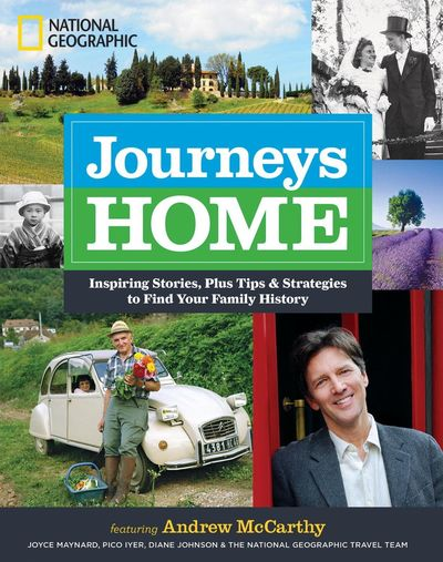 Journeys Home by Andrew McCarthy