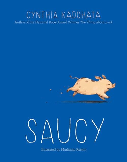 Saucy by Cynthia Kadohata