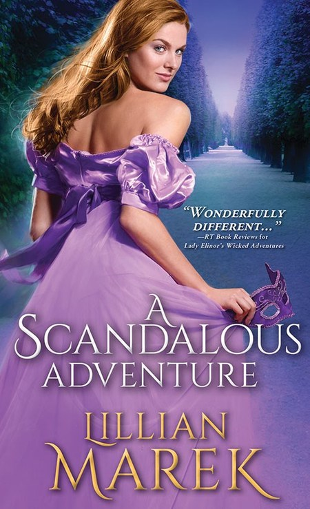 A Scandalous Adventure by Lillian Marek