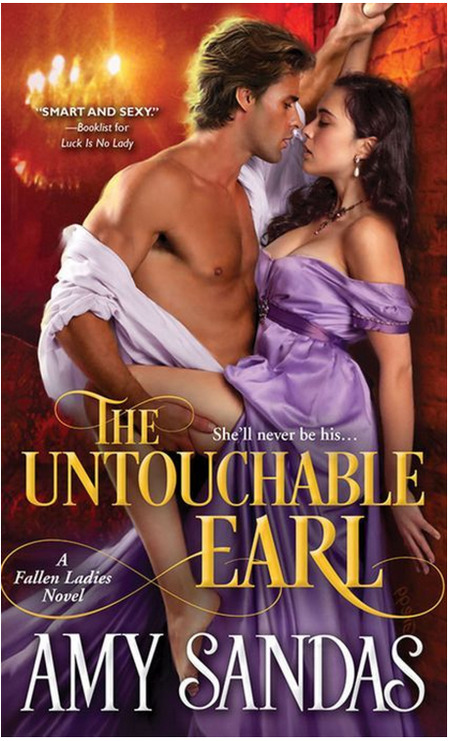 The Untouchable Earl by Amy Sandas