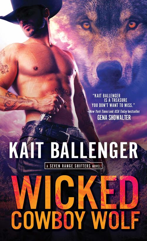 Wicked Cowboy Wolf by Kait Ballenger