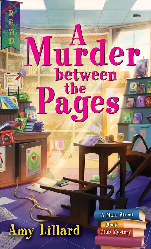 A Murder Between the Pages by Amy Lillard