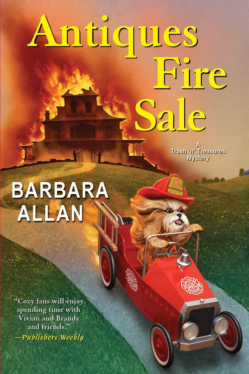 Antiques Fire Sale by Barbara Allan