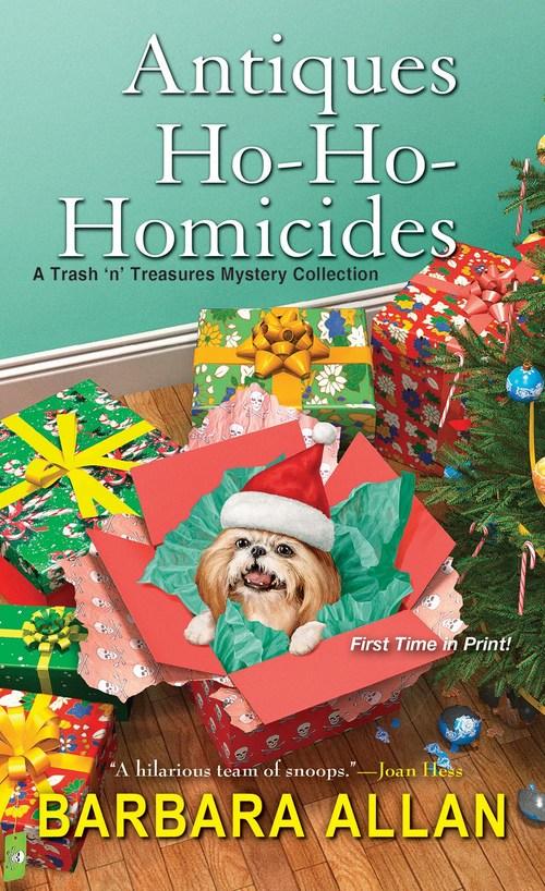 Antiques Ho-Ho-Homicides by Barbara Allan