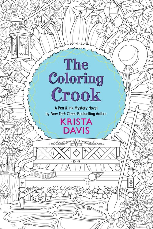 The Coloring Crook by Krista Davis